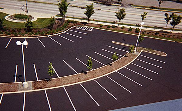 Cleveland parking lot maintenance